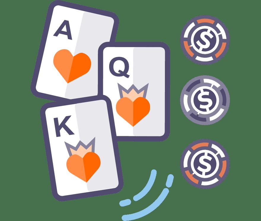Los 48 mejores sitios de Casino de Póker de tres cartas en línea en Ecuador